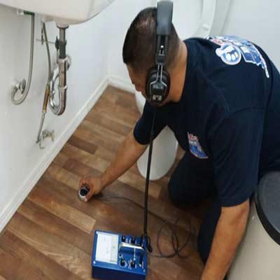 تشخیص ترکیدگی لوله آب با دستگاه