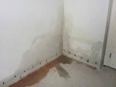 شناسایی نم دیوارها و لکه های آب